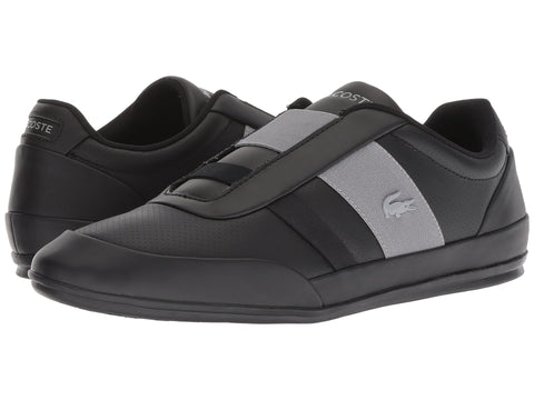 LACOSTE Misano Elastic 318 1 Men | Black / Grey (7-36CAM0073231)