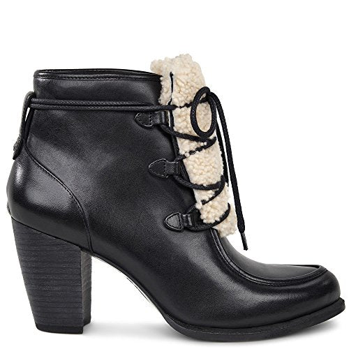 UGG Analise Exposed Fur Women | Black / Natural (1013676)