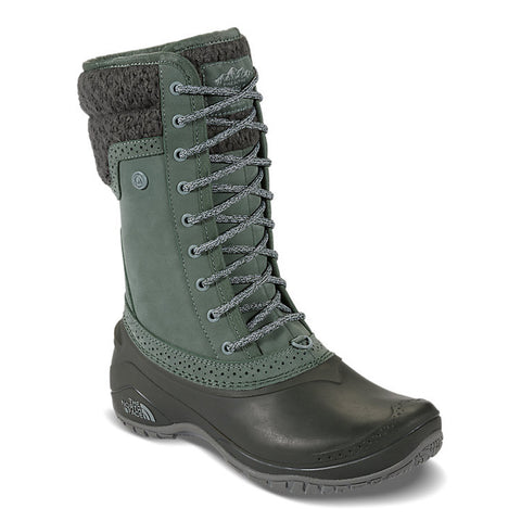 THE NORTH FACE Shellista II Mid Women | Duck Green / Wrought Iron
