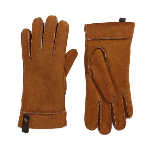 UGG Sheepskin Tenney Glove Women | Chestnut (16272)