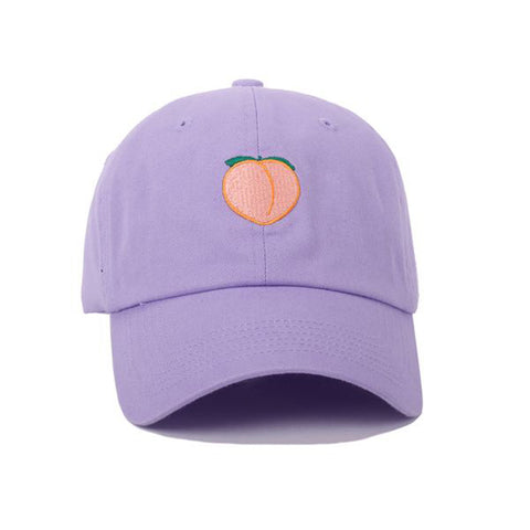 ANY MEMES Peach Dad Hat | Purple (41483)