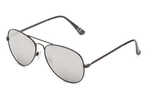 VANS Fly South Sunglasses Women | Black/Silver (VN0A2XBRYG4)