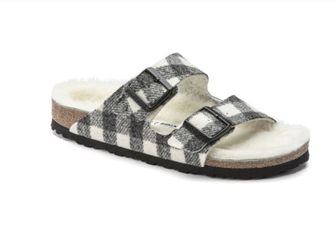BIRKENSTOCK Arizona Rivet Men | Plaid White