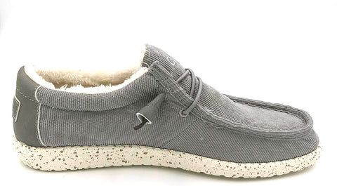 HEY DUDE Wally Corduroy Men | Light Grey (110063076)