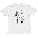 CAPTAIN FIN Know Your Rights Premium T-Shirt Men | White (CT171063)