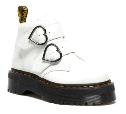 DR.MARTENS Devon Heart Women | White (26439001)