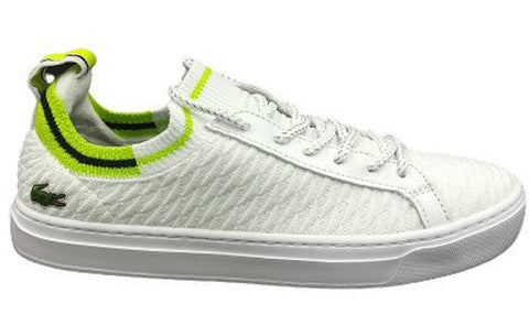 LACOSTE La Piquee 0120 3 CFA Women | White/Light Green (7-40CFA00142L6)