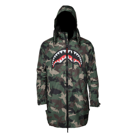 SPRAYGROUND Shark Paratrooper Men | Camo (91C02001NSZ)