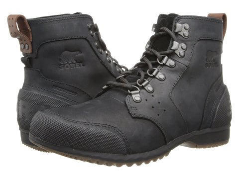 SOREL Ankeny Mid Hiker Men | Black / Tobacco (1553371)