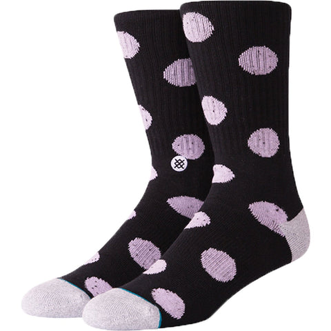 STANCE Nord Crew Socks Men | Black (M556C18NOR) (Large)