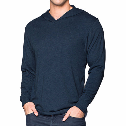 THREAD SOCIETY Triblend Hoodie Men | Indigo