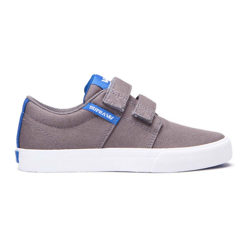 SUPRA Stacks Vulc II V Kids | Dark Grey / Ocean / White (55672-047-M)