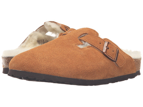 BIRKENSTOCK Boston Fur Women | Mink (1001141)