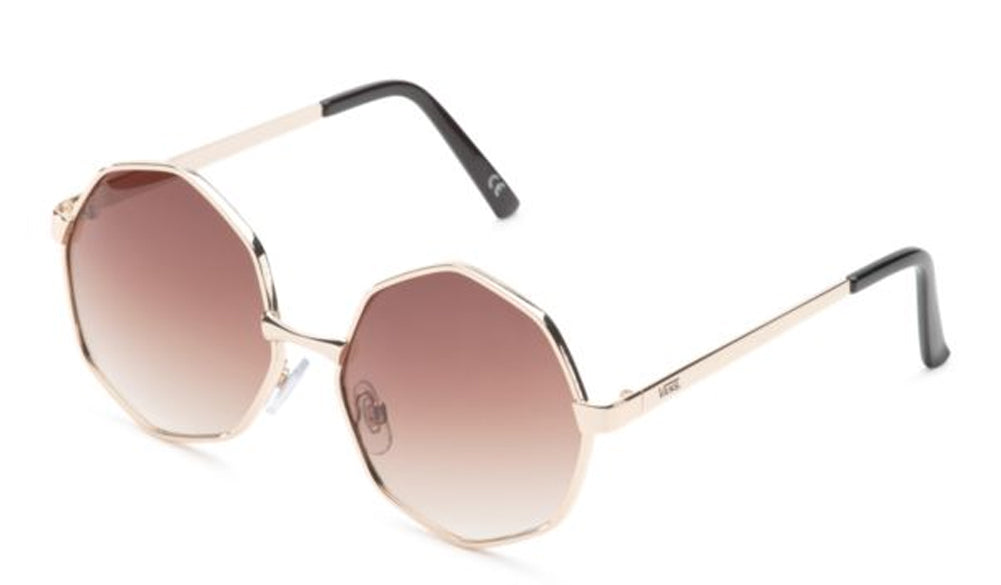 VANS Golden Gal Sunglasses Women | Gold Gradient (VN0A3UQHRIA)