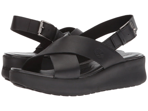 TIMBERLAND Los Angeles Wind Slingback Women | Black Full Grain (A1MOK015)