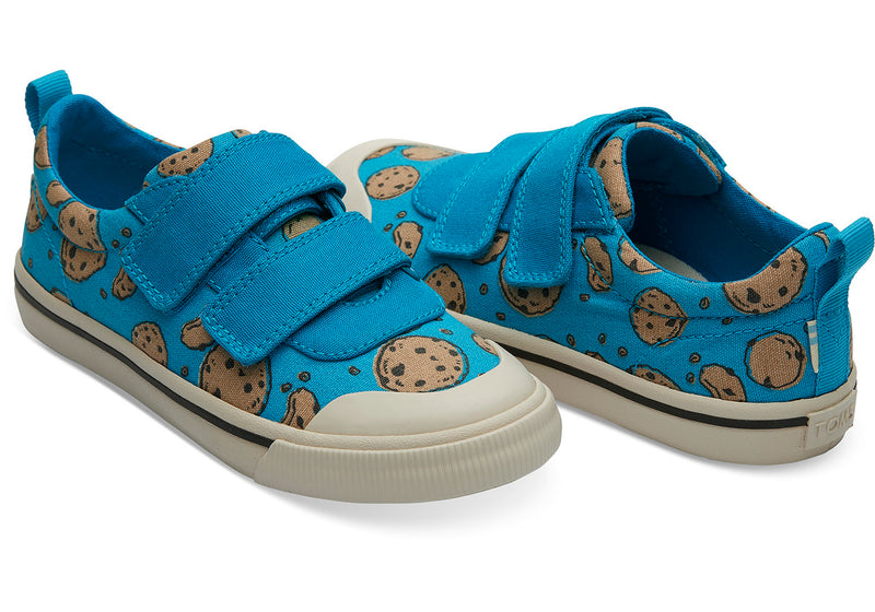 TOMS Sesame Street X Cookie Monster Doheny Youth | Blue (10013639)