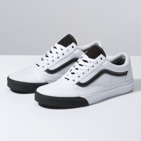 VANS Color Block Old Skool Unisex | True White/Black (VN0A38G1VOY)