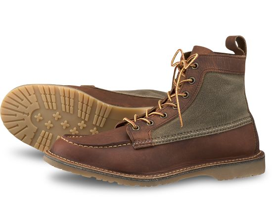 RED WING Wacouta Men | Copper Rough & Tough (3335)