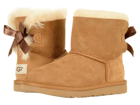 UGG Bailey Bow II Kids | Chestnut (1017397K)