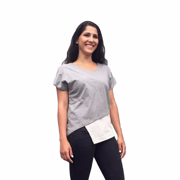 ELEGANTEES Lena Women | Heather Grey