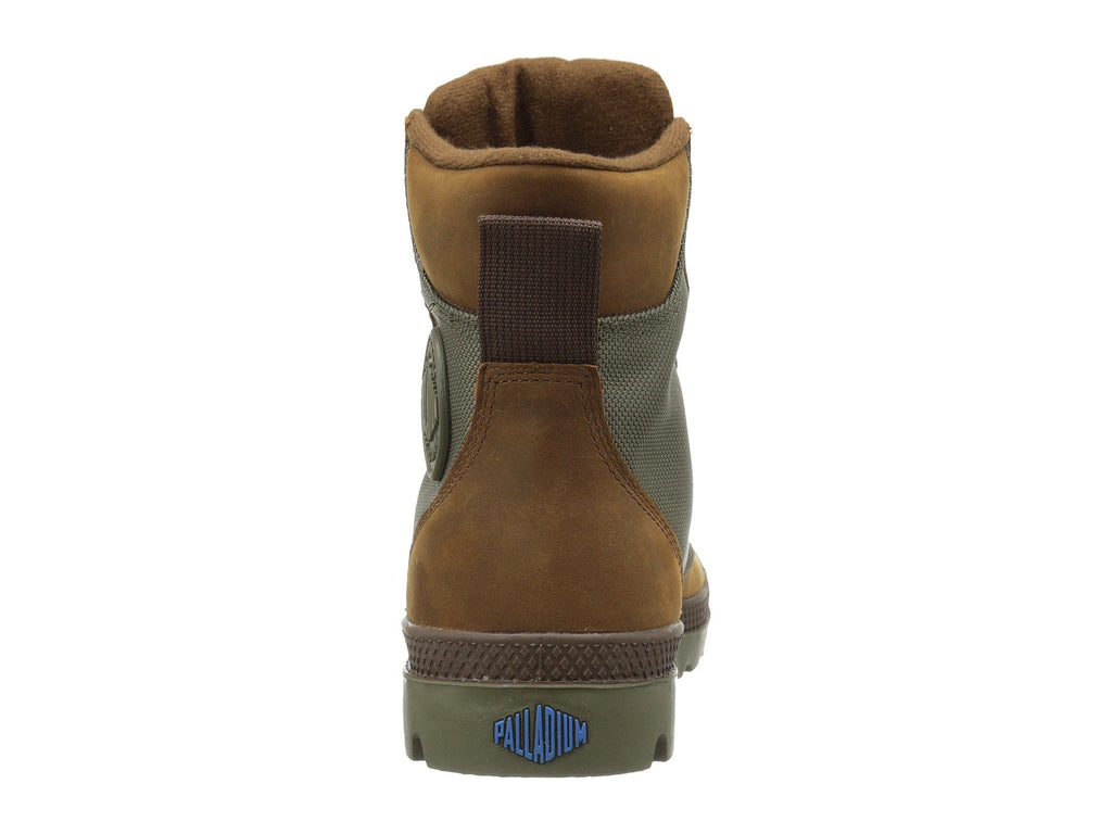 PALLADIUM Pampa Sport Cuff WPN Unisex | Brindle Brown/Moon Mist