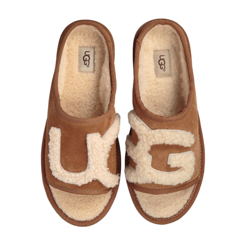 UGG Slide Women | Chestnut / Natural (1019730)