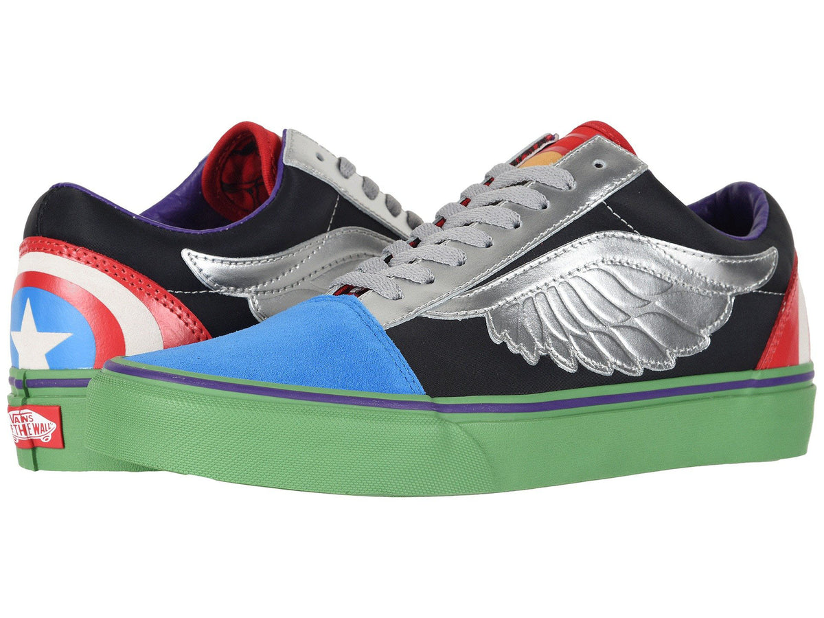 89422b42646 VANS Marvel Old Skool Women