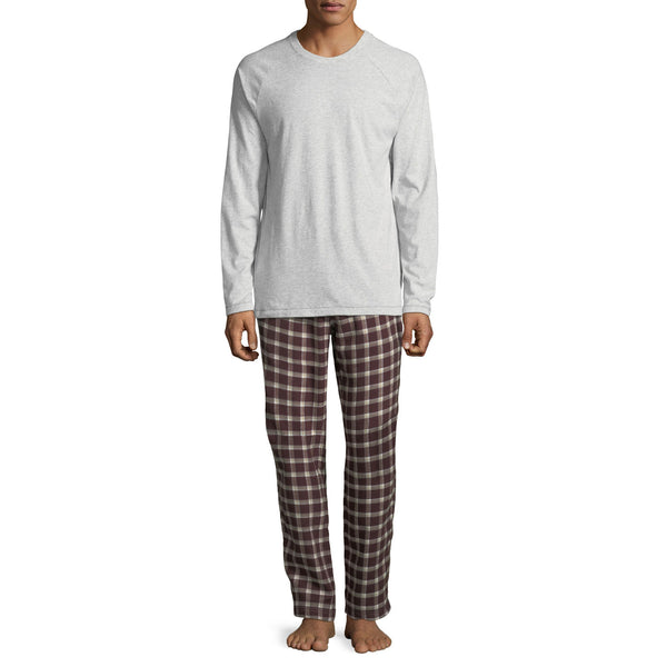 UGG Steiner Plaid Set Men | Port / Seal Heather (1090651)