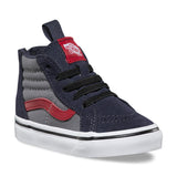 VANS Pop Sk8-Hi Zip Toddler | Parisian Night / Racing Red (2R3M34)