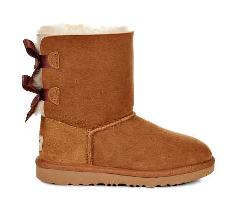 UGG Bailey Bow II Kids | Chestnut (1017394K)