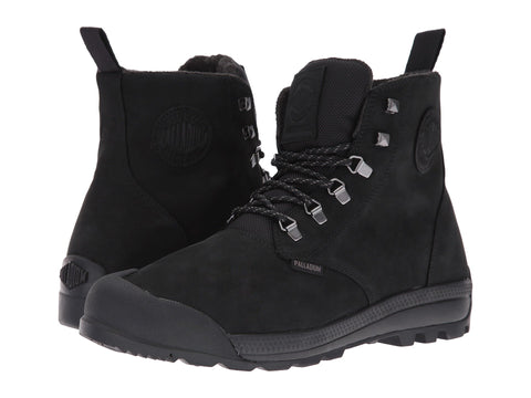 PALLADIUM Pampatech Hi Lea WP Men | Black / Black (75188-060-M)
