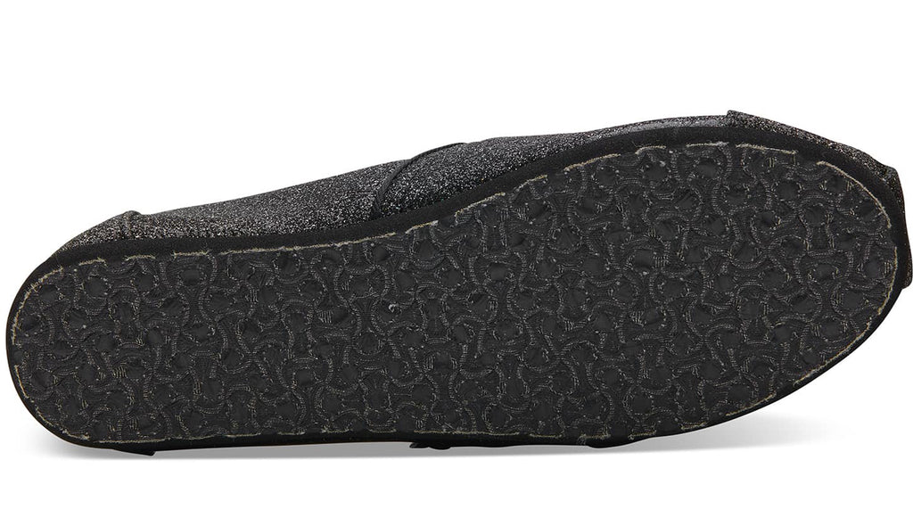TOMS Black Iridescent Glimmer Youth | Black (10011448)
