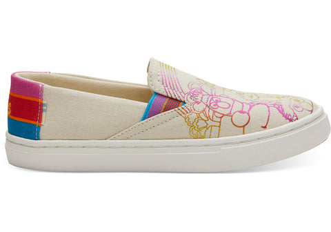 TOMS Sesame Street X Foil Printed Luca Youth | Natural (10013644)