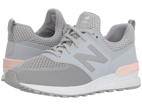 NEW BALANCE 574 Sport Men | Silver Mink / Sunrise Glo (MS574TMG)
