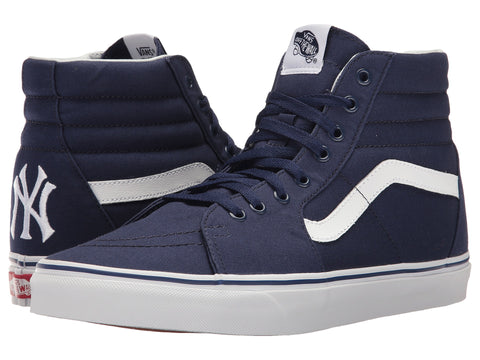 VANS MLB Sk8-Hi Men | New York Yankees / Navy (8GEKU3)