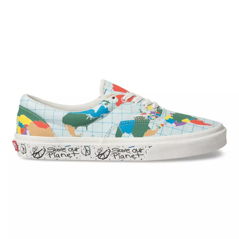 VANS Era Save Our Planet Unisex | Classic White/Multi (VN0A4BV4T2V)