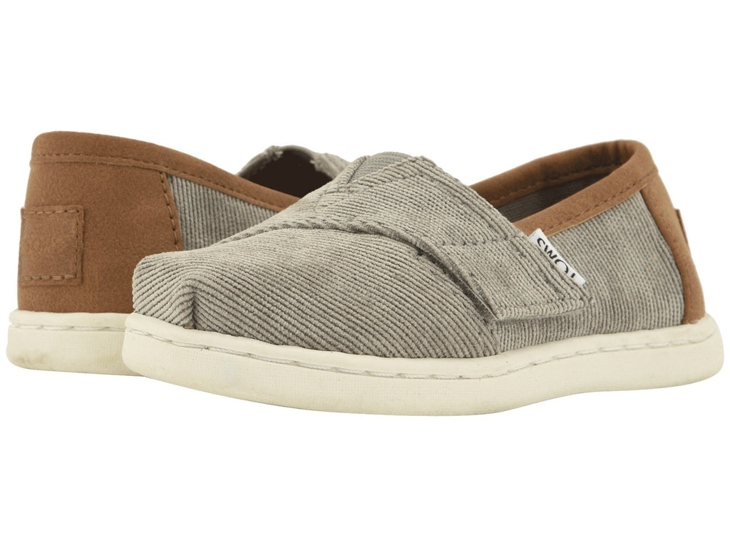 TOMS Micro Corduroy / Synthetic Leather Original Tiny | Cement (10012550)