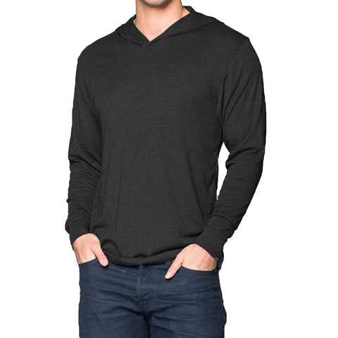 THREAD SOCIETY Triblend Hoodie Men | Black