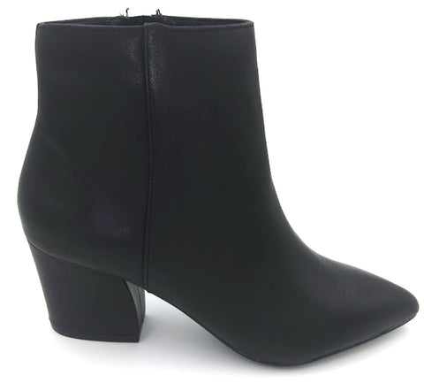STEVE MADDEN Missie Women | Black Leather
