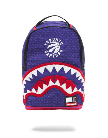 SPRAYGROUND NBA Lab Raptors Shark Backpack | Purple (910B1273NSZ)