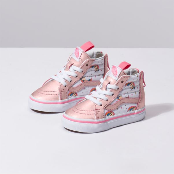 Vans Sk8-Hi Zip Toddler | Pink Lemonade/True White (VN0A32R3UGL)