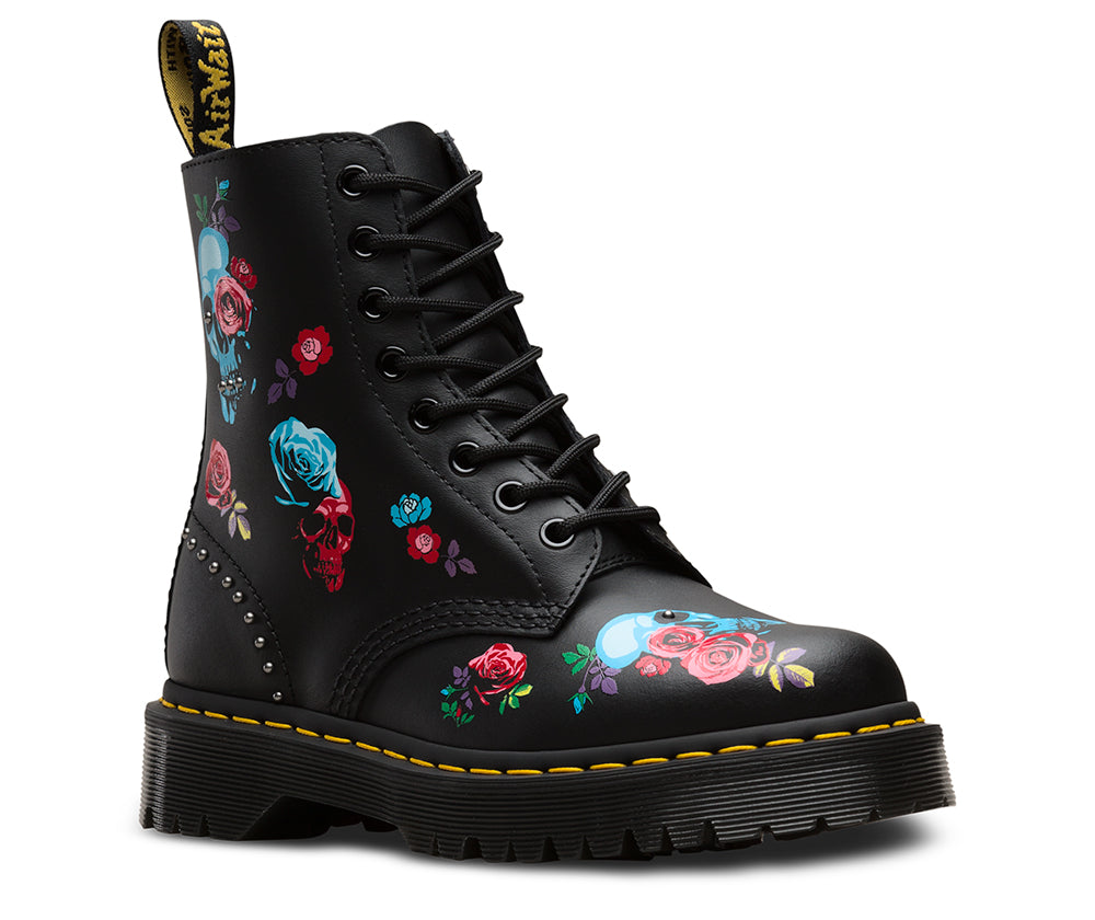 DR. MARTENS Pascal Bex Rose Women | Rose Fantasy Placement (24424001)