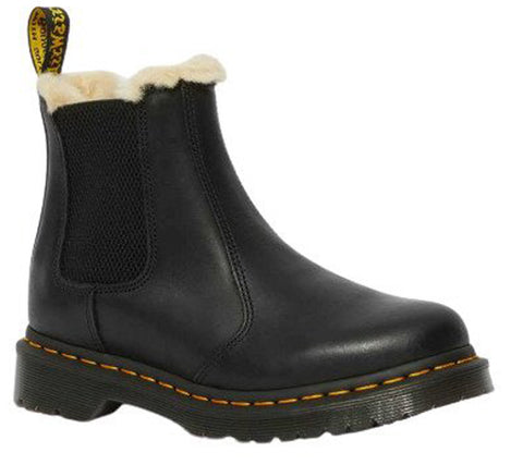 DR.MARTENS 2976 Lenore Women | Black Burnished Wyoming (21045001)