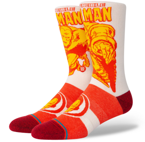 STANCE Iron Man Marquee Men| Red (A545A21IMQ)