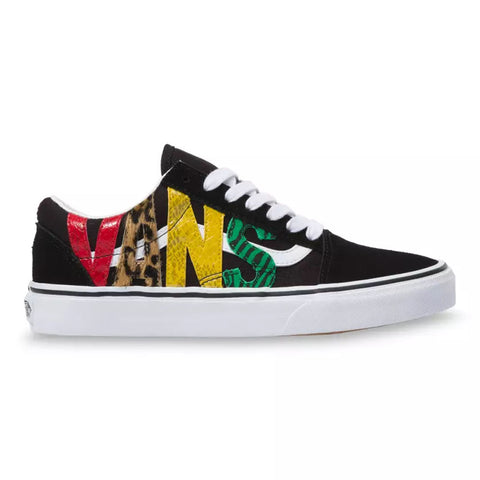 VANS Animal Old Skool Unisex | Rasta/Black (VN0A4U3BXF1)