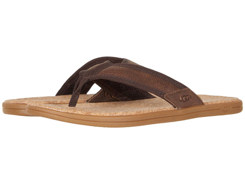 UGG Seaside Flip-Flop Men | Chestnut (1020073)