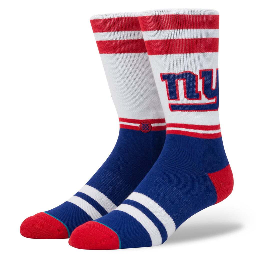 STANCE Giants Logo Socks Men | White (M558C18LNY) (Large)