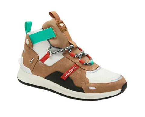 LACOSTE RunBreaker 0320 1Women | Tan/Off-White (7-40SFA0040F57)