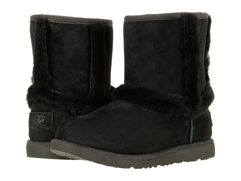 UGG Hadley II WP Kids | Black (1017332K)