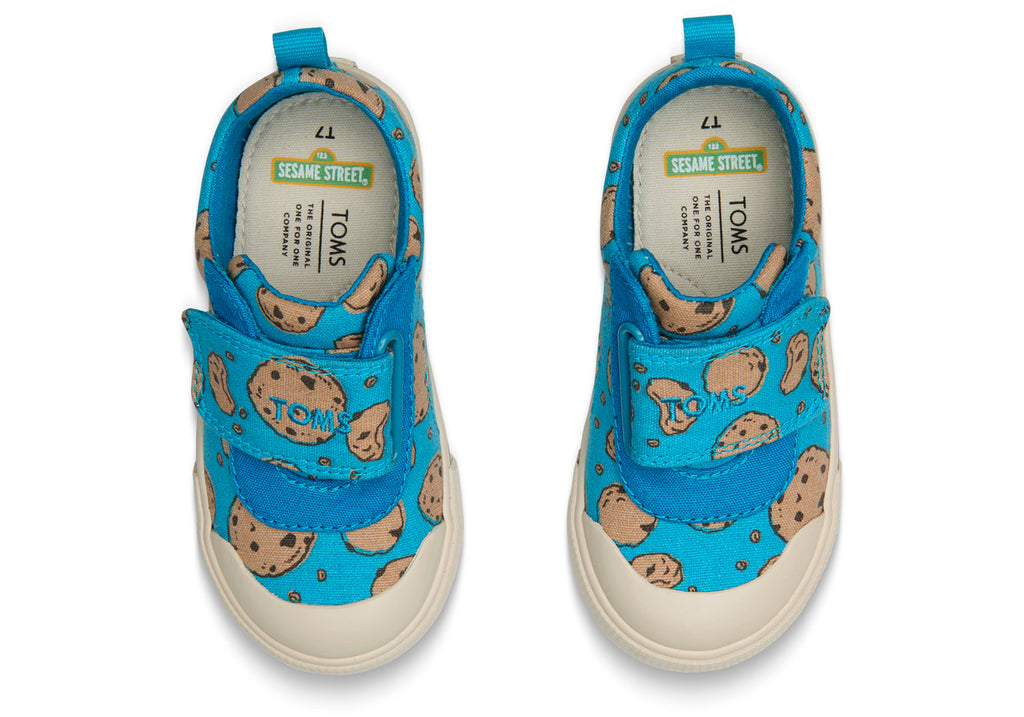 TOMS Sesame Street X Cookie Monster Tiny | Blue (10013633)